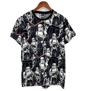 STAR WARS Darth Vader Short Sleeve T-Shirt Large